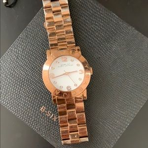 ❗️rose gold Marc Jacob watch -used❗️